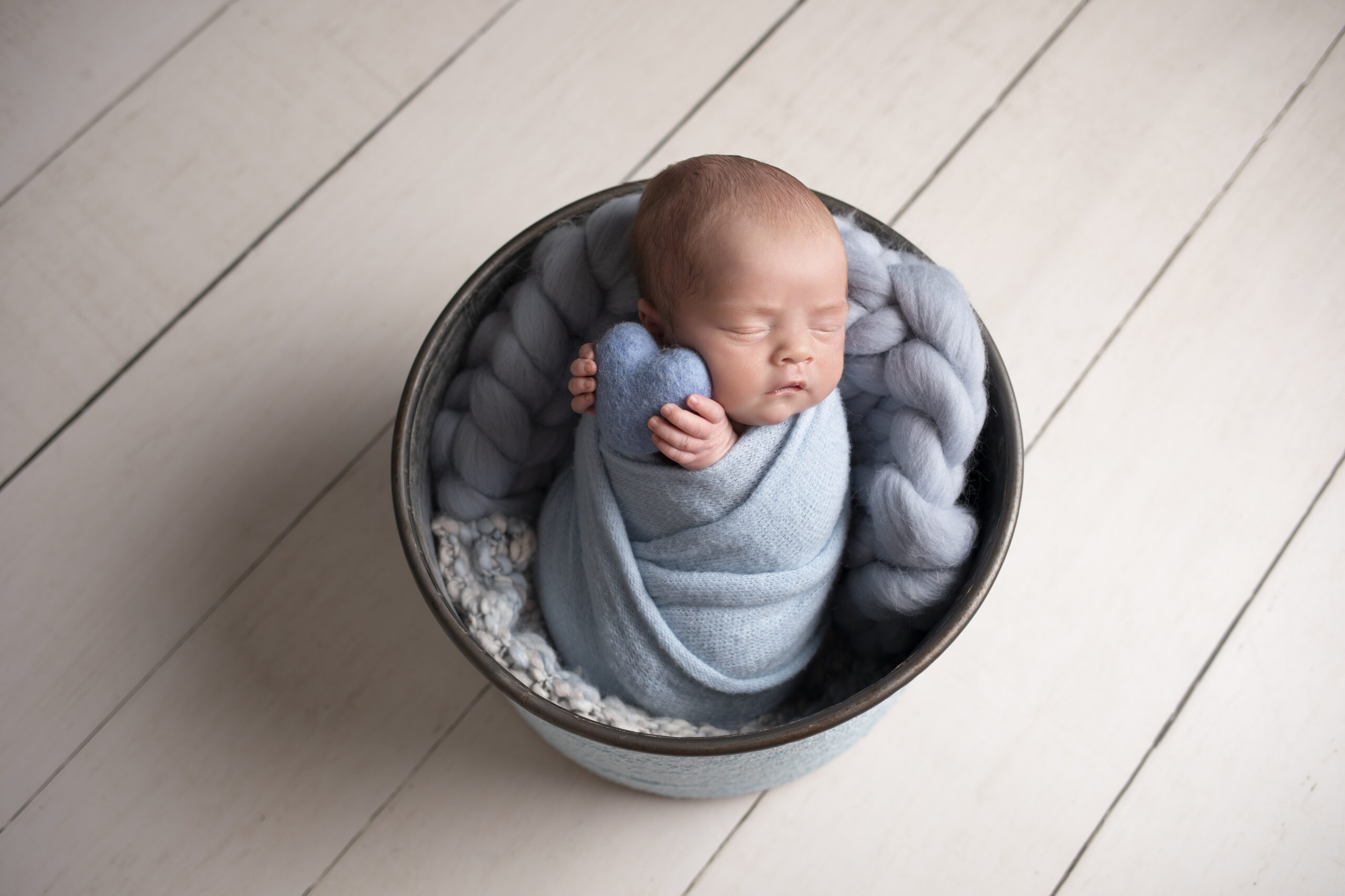 newborn photography studio baby boy Liverpool