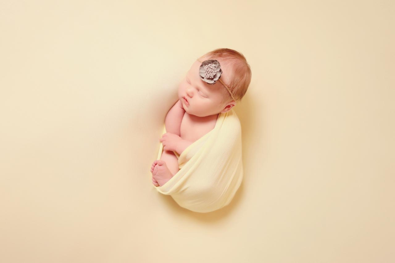 newborn baby boy blue photoshoot