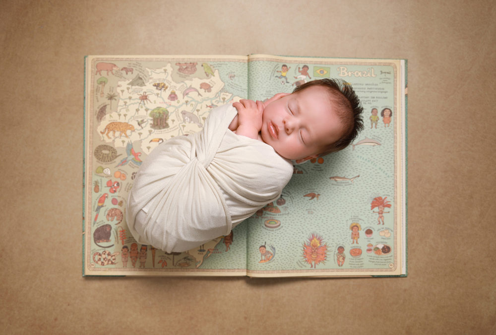 Baby Benjamin's Nautical themed photoshoot