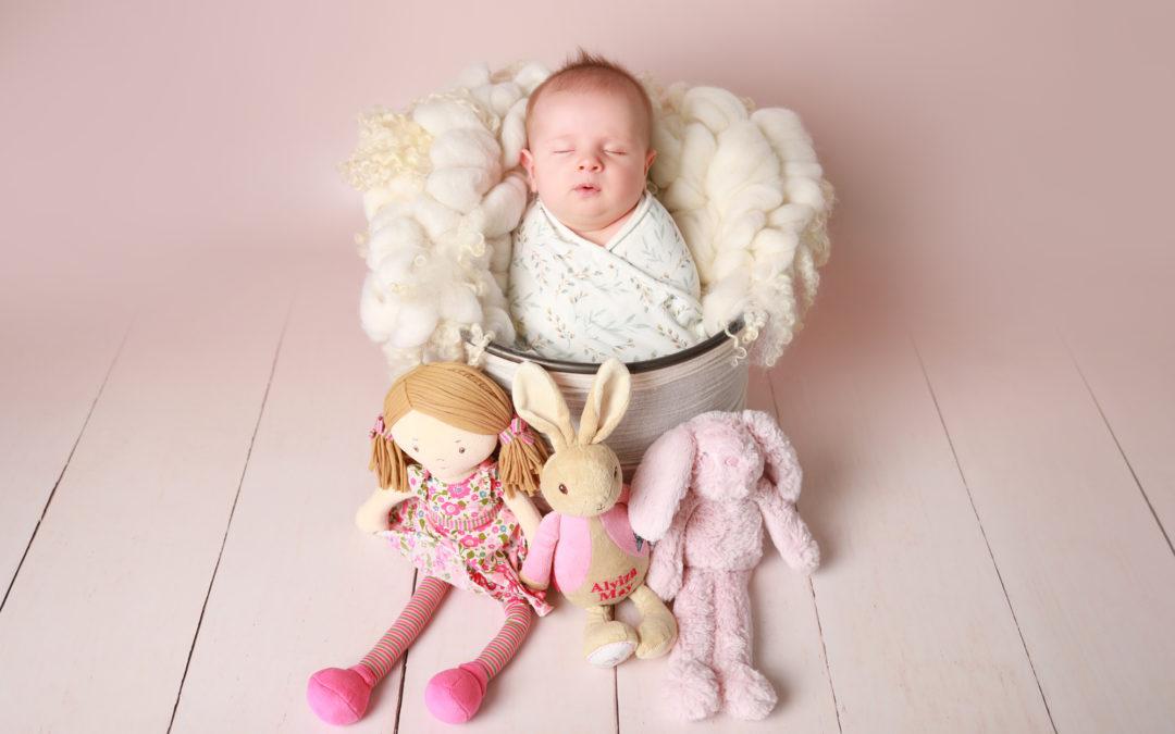 Alyiza's Newborn Photoshoot